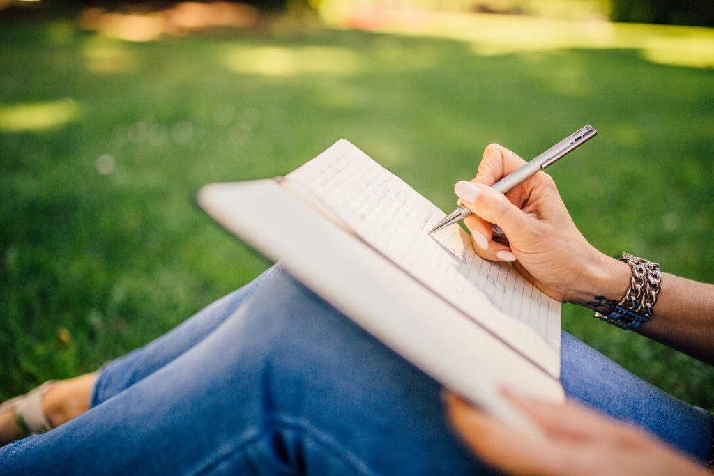 How To Stay Positive In Hard Times : Journaling your Worries